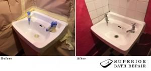 Sink Re-Enamelling
